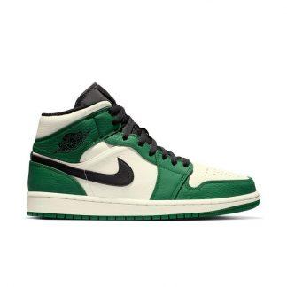 ... 50% Off Discount Jordan 1 Mid SE Pine Green Black Sail Mens Shoe - cheap  jordans for sale online free shipping - Q0389 ... 4c2b0382e