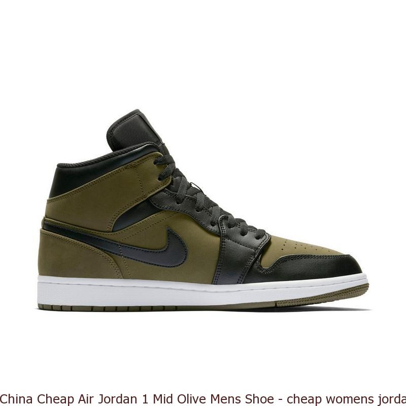 hot sales a2dfb 80e7c China Cheap Air Jordan 1 Mid Olive Mens Shoe – cheap womens jordans shoes  ...