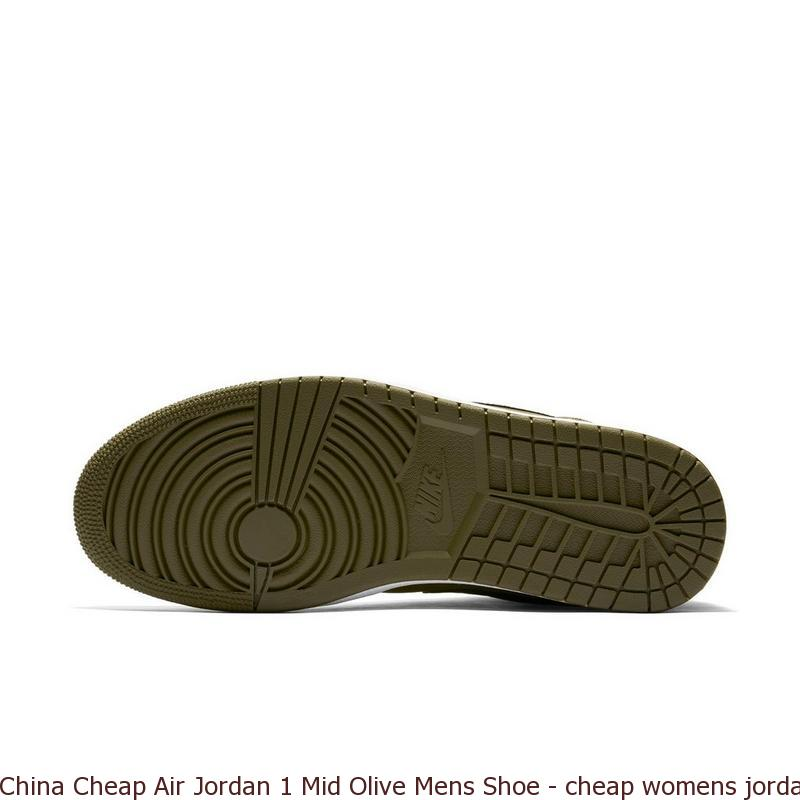 baa4d4e434d6 China Cheap Air Jordan 1 Mid Olive Mens Shoe – cheap womens jordans ...