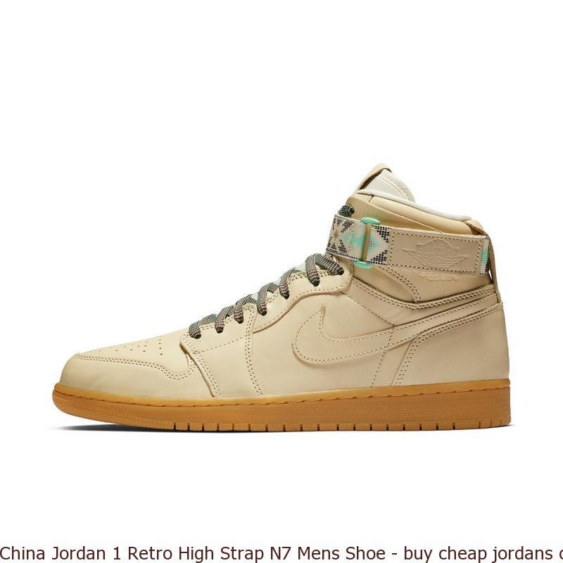 China Jordan 1 Retro High Strap N7 Mens