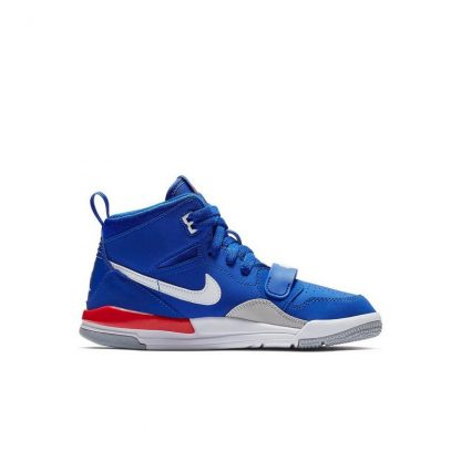 861c4ee962d0 Clearance Jordan Legacy 312 Bright Blue White Preschool Kids Shoe ...