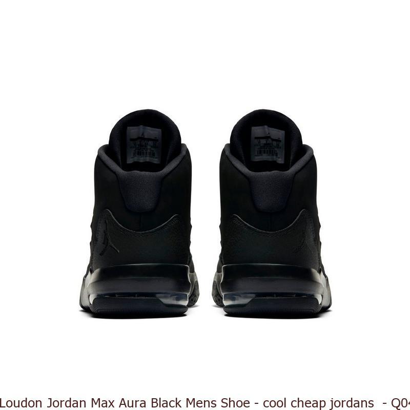 classic fit 36c3b 25fb8 Loudon Jordan Max Aura Black Mens Shoe - cool cheap jordans - Q0440