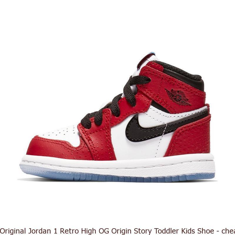 online retailer 34911 a99e6 Original Jordan 1 Retro High OG Origin Story Toddler Kids ...