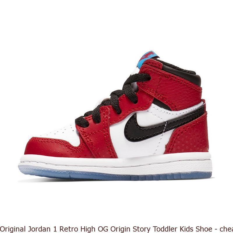 ec5917763745 Original Jordan 1 Retro High OG Origin Story Toddler Kids Shoe ...