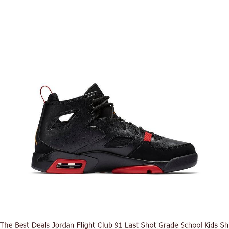 The Best Deals Jordan Flight Club 91 Last Shot Grade School Kids Shoe ... 2700ef5b0