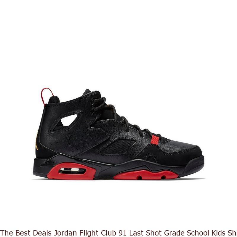 new concept 7ce59 3f7c9 The Best Deals Jordan Flight Club 91 Last Shot Grade School Kids ...