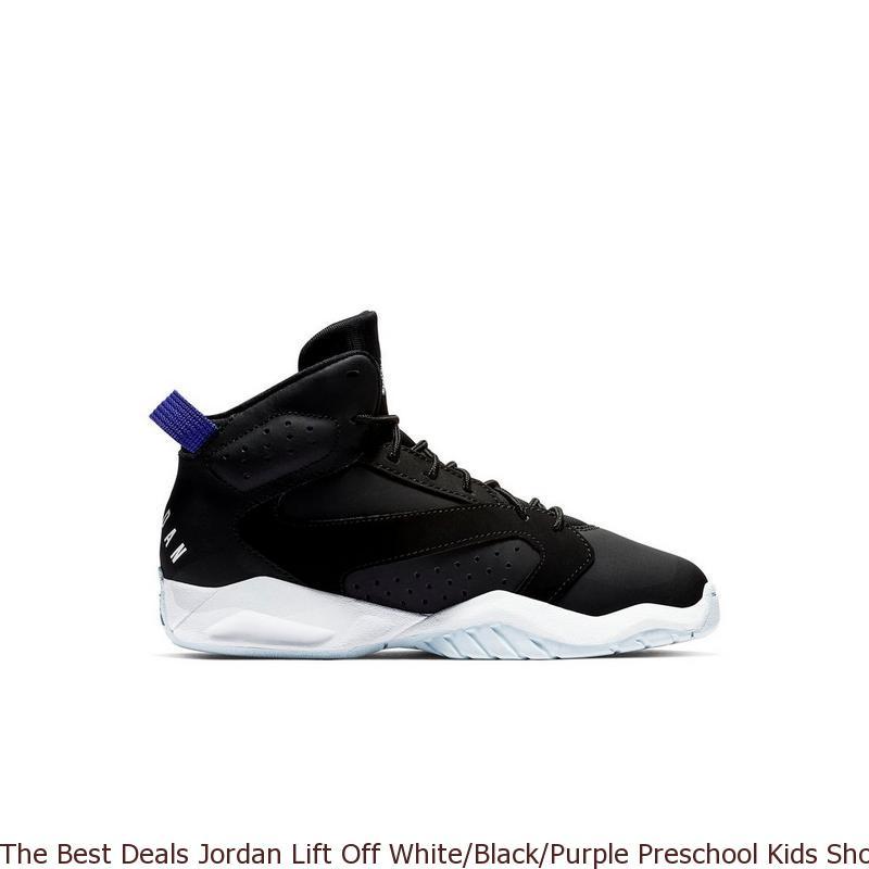 7e7e295ff09f The Best Deals Jordan Lift Off White Black Purple Preschool Kids ...