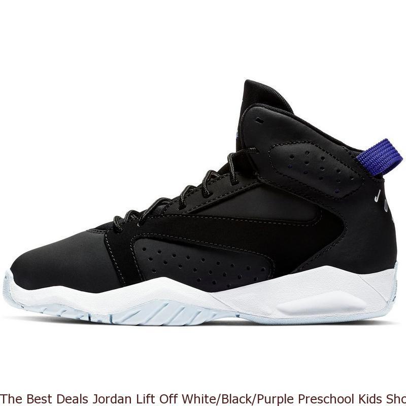 51987b4b437 The Best Deals Jordan Lift Off White Black Purple Preschool Kids ...