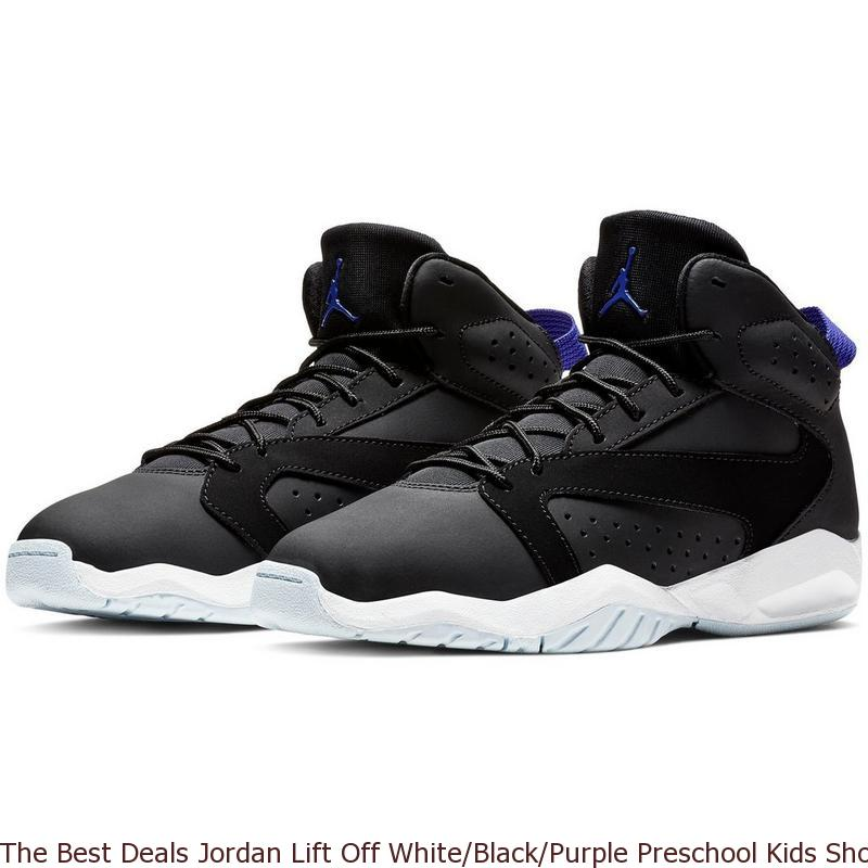 35f3105afcb The Best Deals Jordan Lift Off White Black Purple Preschool Kids Shoe ...
